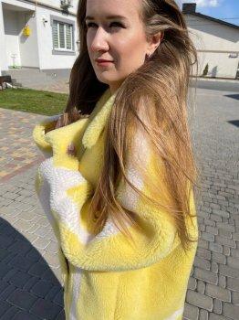 Шуба SM KHJ1257 Лимонный