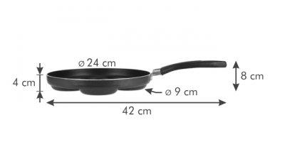 Сковорода PRESTO Tescoma для оладьев ø 24 см (594244)