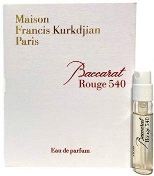Пробник Парфюмированная вода унисекс Maison Francis Kurkdjian Baccarat Rouge 540 2 мл (3700559603147)