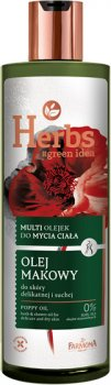 Гель-масло для душа Farmona Маковое масло 400 мл (5900117007266)