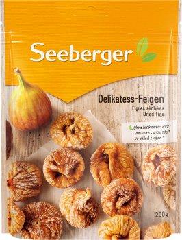Упаковка інжиру сушеного Seeberger делікатесного 200 г х 12 шт. (4008258235898)