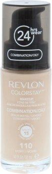 Тональный крем Revlon ColorStay комбинированная и жирная кожа с дозатором 110 Ivory 30 мл (309974700016)