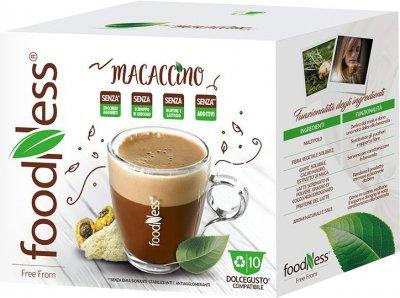 Капсульный напиток FoodNess Dolce Gusto Макачино с экстрактом Маки перуанской и шоколадом 10 капсул х 14 г (8031848001524)