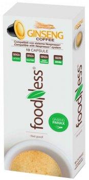 Капсульный напиток FoodNess Nespresso Кофе с женьшенем классический 10 капсул х 7 г (8031848000022)