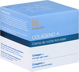 Ночной крем для лица Interapothek Антивозрастной с коллагеном и витамином С 50 мл (8430321705797)