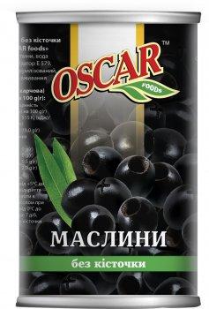 Маслины черные Oscar без косточки 350 г (8413552051338)