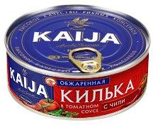 Килька Kaija обжаренная в томатном соусе с чили 240 г (4751007736091)