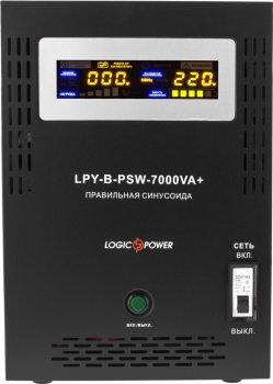Комплект резервного живлення LogicPower B7000 + літеевая (LifePo4) батарея 11600 ват (LP12822)