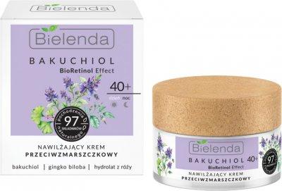 Крем Bielenda Bacuchiol Увлажняющий Против морщин 40+ день/ночь 50 мл (5902169042516)