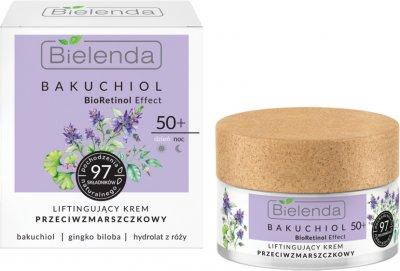 Крем лифтинг Bielenda Bacuchiol Против морщин 50+ день/ночь 50 мл (5902169042523)