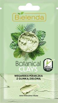 Маска для лица Botanical Clays зеленая глина + алоэ 8 г (5902169038687)