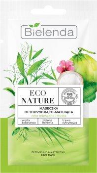 Маска для лица Bielenda ECO Nature Детоксикация с матирующим эффектом 8 г (5902169040581)