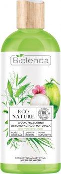 Міцелярна вода Bielenda ECO Nature для очищення обличчя 500 мл (5902169040598)