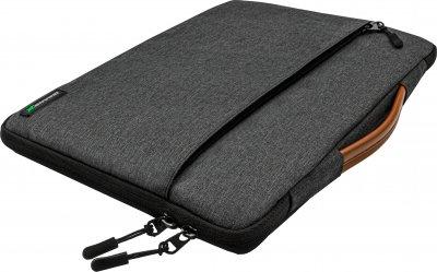 """Чехол для ноутбука Grand-X SLX-14D 14"""" Dark Grey"""