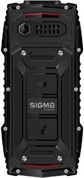 Мобильный телефон Sigma mobile X-treme AZ68 Black-Red