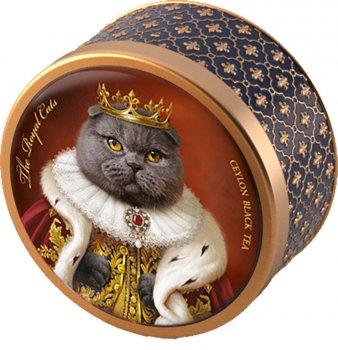 Чай черный рассыпной крупнолистовой Richard The Royal Cats Британский 30 г (2200000000231)