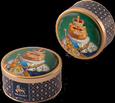 Чай черный рассыпной крупнолистовой Richard The Royal Cats Персидский 30 г (2200000000262)