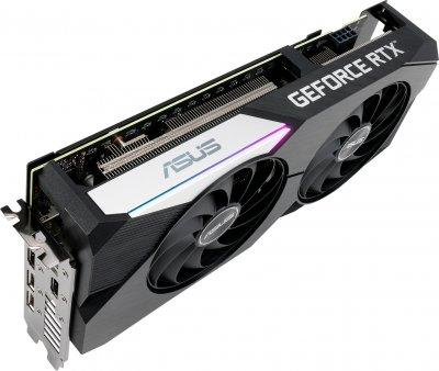 Asus PCI-Ex GeForce RTX 3060 Ti Dual 8GB GDDR6 (256bit) (1695/14000) (2 x HDMI, 3 x DisplayPort) (DUAL-RTX3060TI-8G)