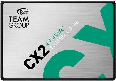 """Team CX2 1TB 2.5"""" SATAIII 3D TLC (T253X6001T0C101)"""