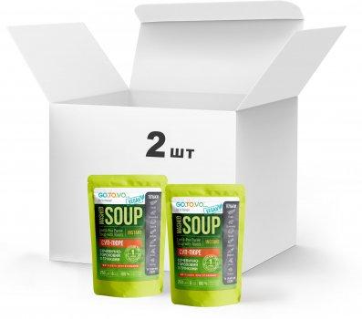 Набір Терра №4 Суп-пюре сочевично-гороховий з грінками 2 x 250 г у дой-пакеті (4820015739483)