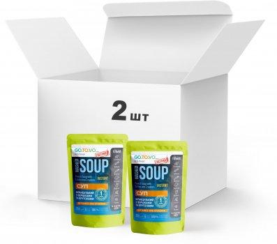 Набір Терра №5 Суп Французький з вершками та крутонами 2 x 250 г у дой-пакеті (4820015739490)