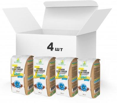 Набір Терра №19 Суміш пластівців швидкого приготування 7 + 1500 г x 4 шт. (4820015738950)