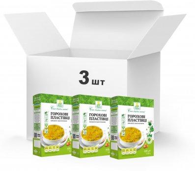 Упаковка Пластівці горохові Терра швидкого приготування 3 x 0.6 кг (4820015739391)