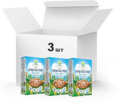 Упаковка Суміш пластівців Терра 7 + 1 швидкого приготування 3 x 0.6 кг (4820015739384)