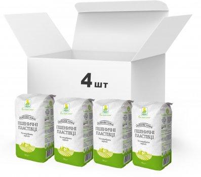 Упаковка Пластівці пшеничні різані Терра швидкого приготування 4 x 0.5 кг (4820015739353)