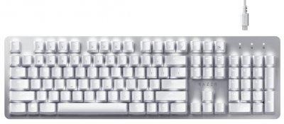 Клавиатура беспроводная Razer Pro Type Razer Orange Switch ENG USB/Bluetooth White/Silver (RZ03-03070100-R3M1)
