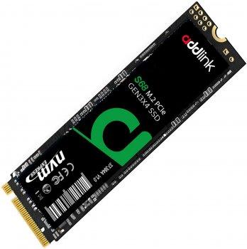 AddLink S68 256GB NVMe M.2 2280 PCIe 3.0 x4 3D NAND TLC (ad256GBS68M2P)