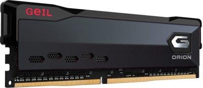 Оперативна пам'ять GeIL DDR4-3000 8192 MB PC4-24000 Orion Titanium Gray (GOG48GB3000C16ASC)