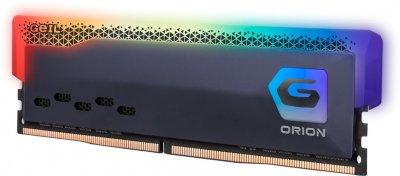 Оперативна пам'ять GeIL DDR4-3200 8192 MB PC4-25600 Orion RGB Titanium Gray (GOSG48GB3200C16BSC)