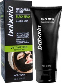 Черная маска Babaria Детоксикация 100 мл (725012) (8410412000307)