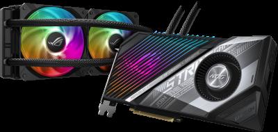 Asus PCI-Ex Radeon RX 6800 XT ROG Strix LC 16GB GDDR6 (256bit) (2360/16000) (HDMI, 2 x DisplayPort, USB Type-C) (ROG-STRIX-LC-RX6800XT-O16G-GAMING)