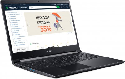 Ноутбук Acer Aspire 7 A715-41G-R9KP (NH.Q8QEU.00L) Charcoal Black