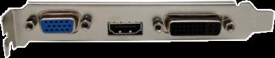 AFOX PCI-Ex GeForce GT710 2GB DDR3 (64bit) (800/1600) (DVI, VGA, HDMI) (AF710-2048D3L7)