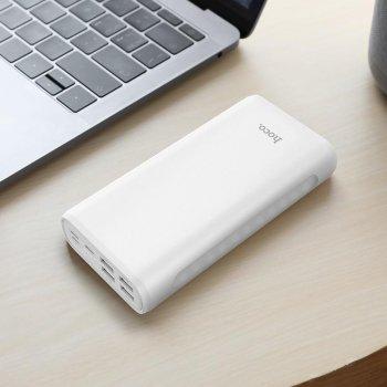Повербанк Hoco 30000 mAh з функцією міні-лампи white