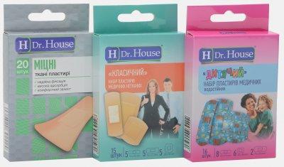 Набор пластырей H Dr. House Крепкие №20 + Классический №15 + Детский №16 (4823905173046)