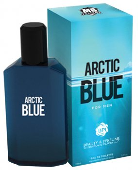 Туалетная вода для мужчин MB Parfums Arctic Blue 100 мл (6291107928470)