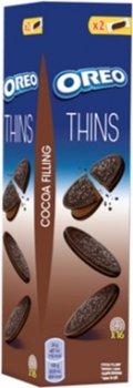 Упаковка печенья Oreo тонкого с какао и кремовой начинкой из какао 96 г х 20 шт (7622210627285)