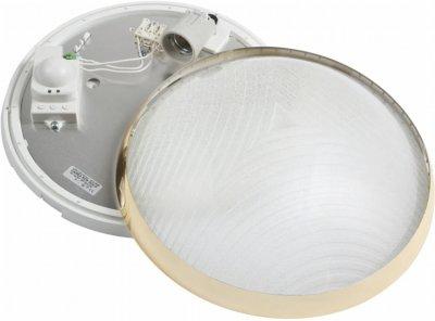Настінно-стельовий світильник Lena Lighting CAMEA RCR 75 W E27 з датчиком руху (30808352)