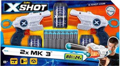 Набор скорострельных бластеров Zuru X-Shot Excel MK 3 Double Pack (193052021366)