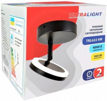 Спотовий світильник Ultralight TRL622 6 W LED чорний (UL-51508)