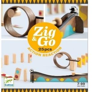 Настільна гра-конструктор Djeco Zig&Go 25 деталей (3070900056428)