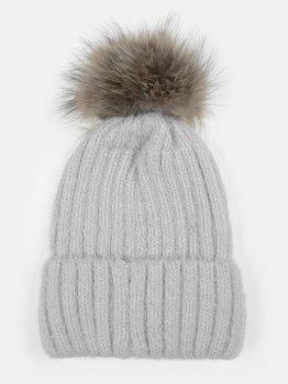 Зимняя шапка Elf-kids Миллисента 50-52 см Серая (ROZ6400026494)