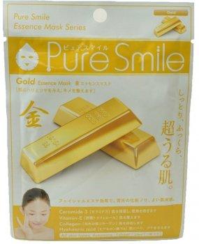 Маска увлажняющая с золотом Pure Smile Essence Mask Series Gold 23 мл (4526371042280)