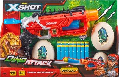 Скорострельный бластер Zuru X-Shot Dino Striker (193052021021)