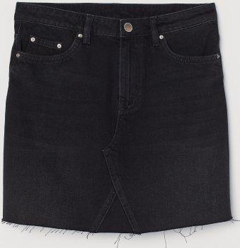 Спідниця джинсова H&M 0691855 Чорна
