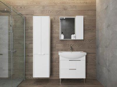 Зеркальный шкаф JUVENTA Manhattan MnhМ-70 белый